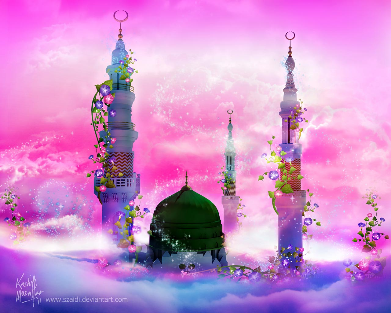 Beautiful Mosque Wallpaper Free Download