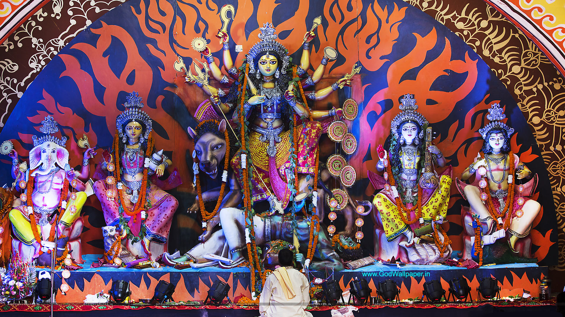 Durga Puja Hd Wallpaper: Best Durga Puja HD Wallpapers For Desktop Download